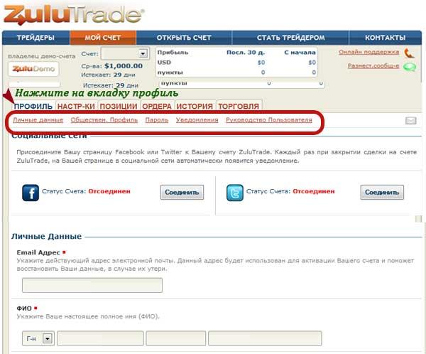zulutrade-описание платформы